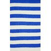 nuLOOM Brilliance Royal Blue Nautical Bold Area Rug