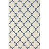 nuLOOM Fancy Dark Blue/Beige Edison Area Rug