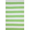 nuLOOM Brilliance Green Nautical Bold Area Rug