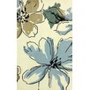 nuLOOM Cine Light Blue Rosalina Area Rug