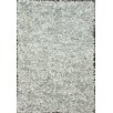nuLOOM Silas Shag White Area Rug