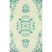 nuLOOM Gradient Cream/Teal Philip Area Rug