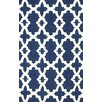 nuLOOM Homestead Blue Heather Geometric Area Rug