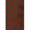nuLOOM Gradient Brown/Red Carrey Area Rug