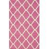 nuLOOM Moderna Pink Trellis Area Rug