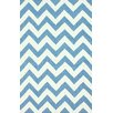 nuLOOM Homestead Blue Meredith Chevron Area Rug