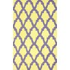 nuLOOM Brilliance Yellow/Purple Damian Area Rug