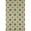 nuLOOM Homestead Purple/Green Nala Geometric Area Rug