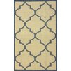 nuLOOM Villa Blue Double Trellis Indoor/Outdoor Area Rug