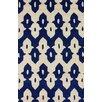 nuLOOM Moderna Royal Blue Palazzo Rug