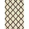 nuLOOM Marbella Moroccan Trellis Kilim Ivory Area Rug