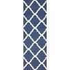 nuLOOM Moderna Deep Blue Trellis Area Rug