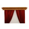 Elizabeth Custom Moulding Double Curtain Rod Cornice