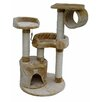 "<strong>39.5"" Cat Tree in Beige</strong> by Go Pet Club"