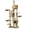 "Go Pet Club 106"" Three Condo Cat Tree"