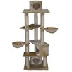 "<strong>Go Pet Club</strong> 72"" Plywood Cat Tree in Beige"