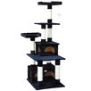 "<strong>67"" Cat Tree and Scratcher Post</strong> by Go Pet Club"
