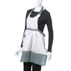 <strong>Elegant Embroidered Apron</strong> by Violet Linen