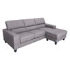 DG Casa Torino Sectional Sofa with Right Facing Chaise