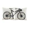 Bicor 2 Piece Murals Pillow Set