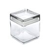 Stackable Square Jar with Lid
