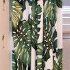 <strong>Hanalei Home</strong> Ohana Cotton Rod Pocket Curtain Single Panel