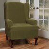 <strong>Maytex</strong> Collin Stretch Wing Chair Slipcover