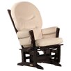 Dutailier Modern Glider with Rounded Cushion