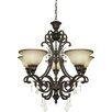 <strong>Artcraft Lighting</strong> Florence 5 Light Mini Chandelier