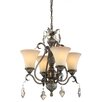 Artcraft Lighting Vienna 4 Light Chandelier
