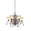 <strong>Artcraft Lighting</strong> Vienna 6 Light Chandelier