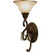 <strong>Artcraft Lighting</strong> Florence 1 Light Wall Sconce