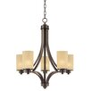 <strong>Parkdale 5 Light Chandelier</strong> by Artcraft Lighting