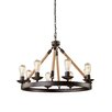 <strong>Danbury 8 Light Chandelier</strong> by Artcraft Lighting