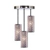 Concentrix 3 Light Pendant
