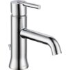Delta Trinsic Single Handle Single Hole Bathroom Faucet