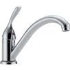 <strong>Delta</strong> Classic Single Handle Single Hole Kitchen Faucet with Diamond Seal Technology