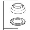 <strong>Saxony Kitchen Escutcheon and Gasket</strong> by Delta