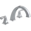 Dryden Double Handle Roman Tub Faucet Trim