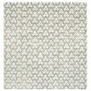 Gandia Blasco Hand Knotted Room White Geometric Area Rug