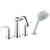 <strong>Hansgrohe</strong> Tango C Double Handle Diverter Roman Tub Faucet and Hand Shower