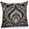 Jovi Home Citta Turin Flock Printed Decorative Pillowcase