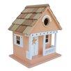 Home Bazaar Beachcomber Starfish Cottage Hanging Birdhouse