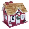 <strong>Holiday Offerings Christmas Cape Cottage Hanging Birdhouse</strong> by Home Bazaar