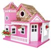 <strong>Home Bazaar</strong> Classic Series Sea Cliff Cottage Free Standing Birdhouse