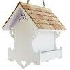 Home Bazaar Cottage Charmer Series Love Nest Decorative Bird Feeder