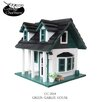 <strong>Home Bazaar</strong> Cottage Charmer Series Green Gables Free Standing Birdhouse