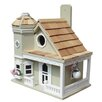 <strong>Home Bazaar</strong> Fledgling Series Flower Pot Cottage Mounted Birdhouse