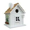 Home Bazaar Nestling Series Trellis Cottage Mounted Birdhouse