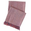 Pine Cone Hill Spice Diamond Linen Throw